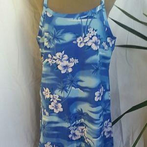 Hawaiian style Sun dress.